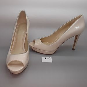 "Marc Fisher ""Byanka2"" Nude Patent Pump Size 8.5"
